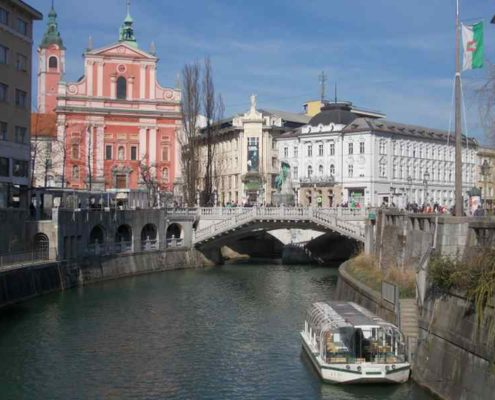 Accessible tour of Ljubljana
